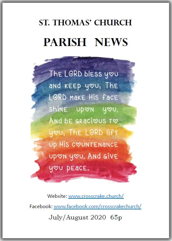 Crosscrake Parish Magazine July-August 2020