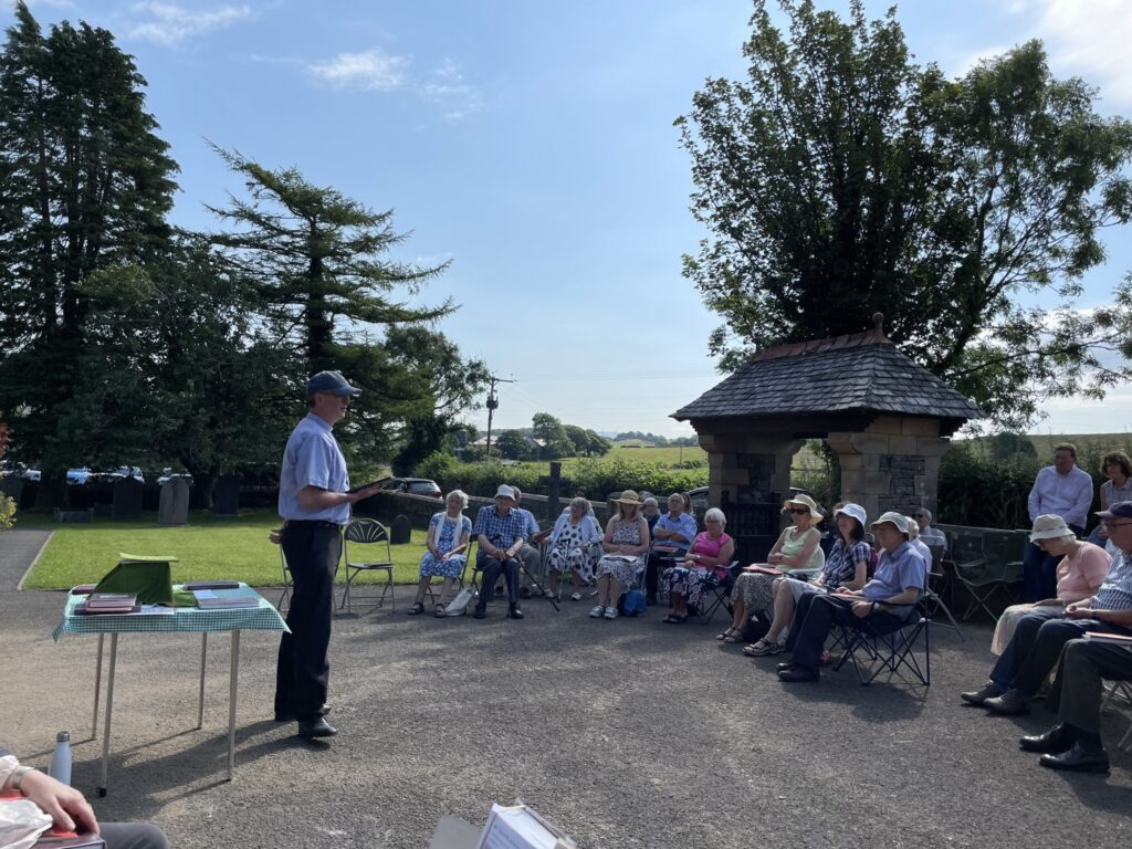 Outdoor service 18thJuly 2021